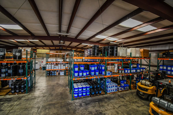 Redding Oil Company Warehouse - Inside